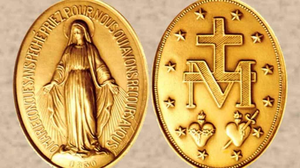 La Medalla Milagrosa.