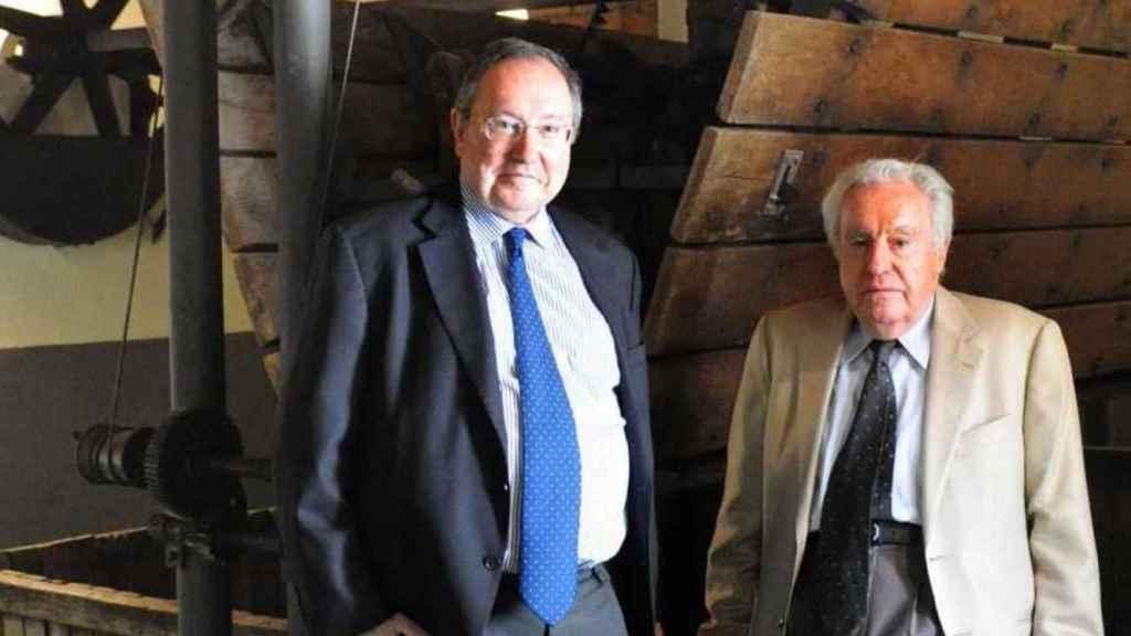 José Luis Bonet y José Ferrer, presidentes de honor de Freixenet.