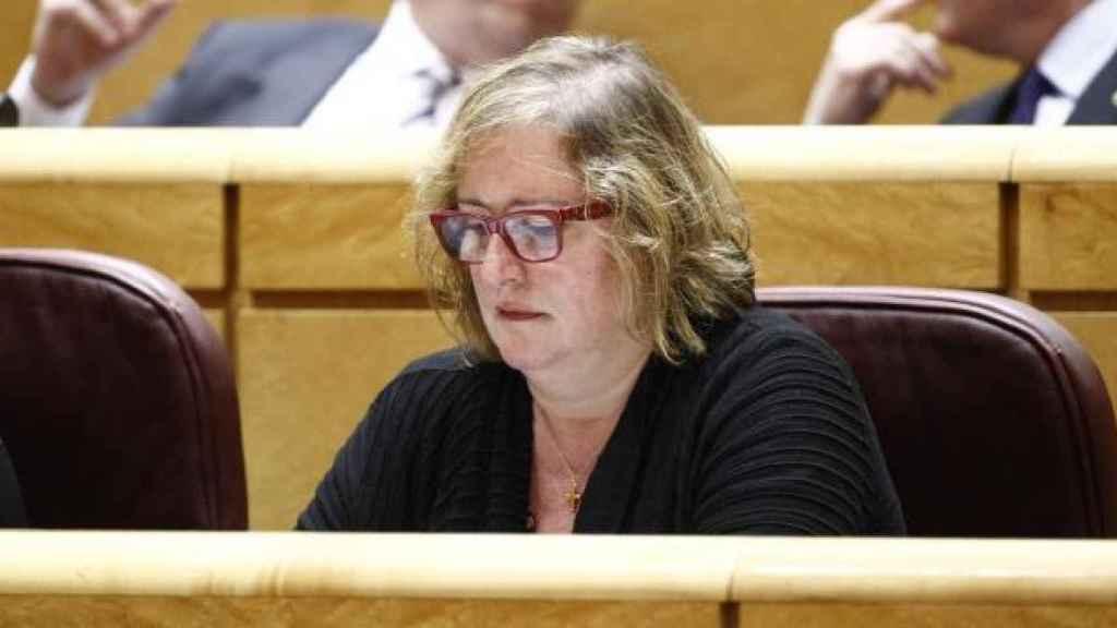 Celia Cánovas, en su etapa como senadora de Podemos.