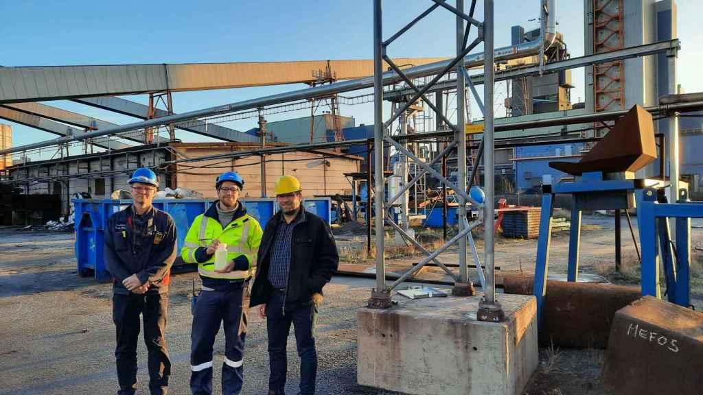 Planta de producción de From Residual Steel Gases to Metanol (FReSMe)