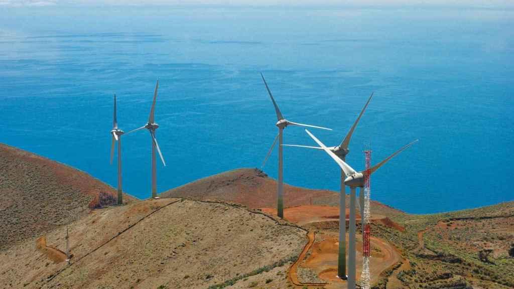Eólica terrestre en Canarias