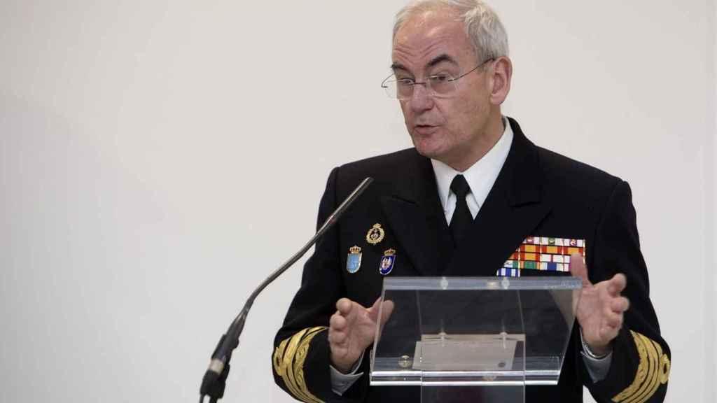 Teodoro López Calderón, jefe del Estado Mayor de la Armada, esta semana.