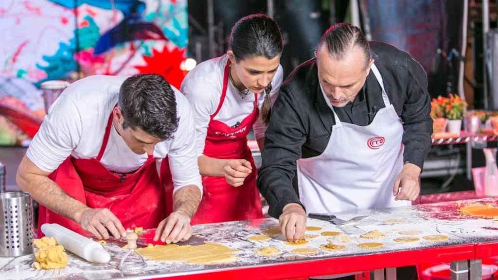 Miguel Bosé pidió un menú especial en su visita a 'MasterChef 3'.