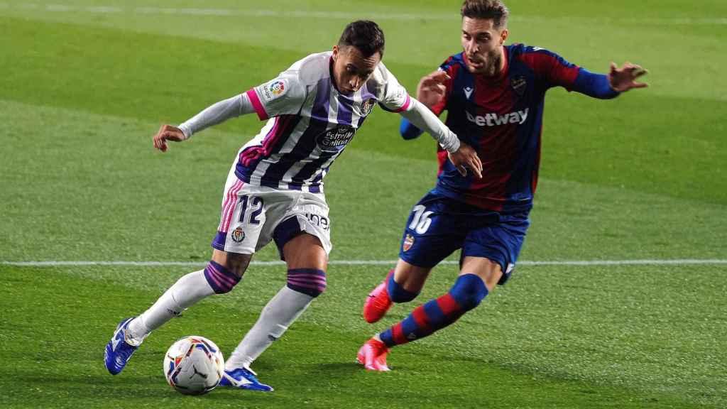 El Levante empata en Valladolid
