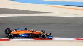 Carlos Sainz en el Gran Premio de Bahréin