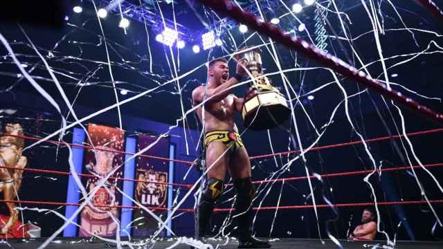 A-Kid, el chico de Vallecas que hace historia en WWE