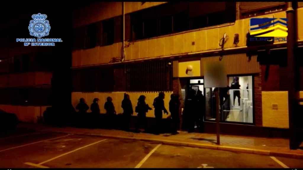 Reciente detención de los miembros de la CGI de la Policía Nacional.