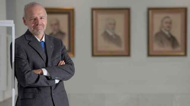 El presidente del Colegio Oficial de Médicos de Madrid, Manuel Martínez-Sellés.