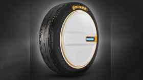 Un neumático capaz de controlar su propia presión de aire.