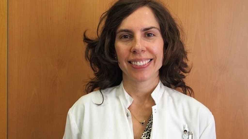 La epidemióloga Andrea Burón.