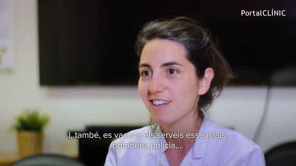 La epidemióloga Anna Llupià.