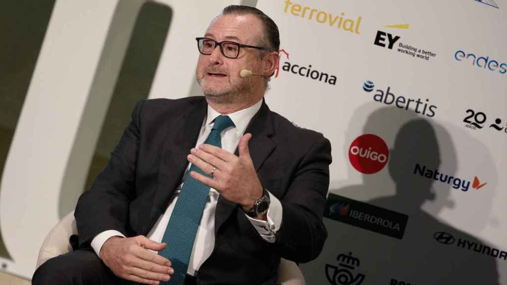 El CEO de Abertis,José Aljaro.
