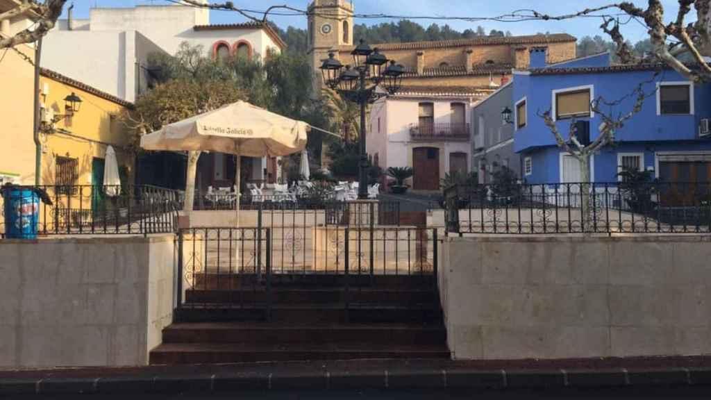 Una imagen de Llíber, el municipio en el que residía Chimo.