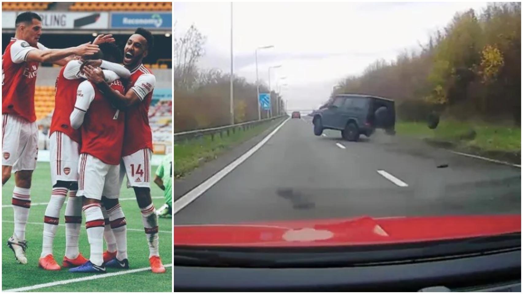 El accidente de tráfico de un jugador del Arsenal