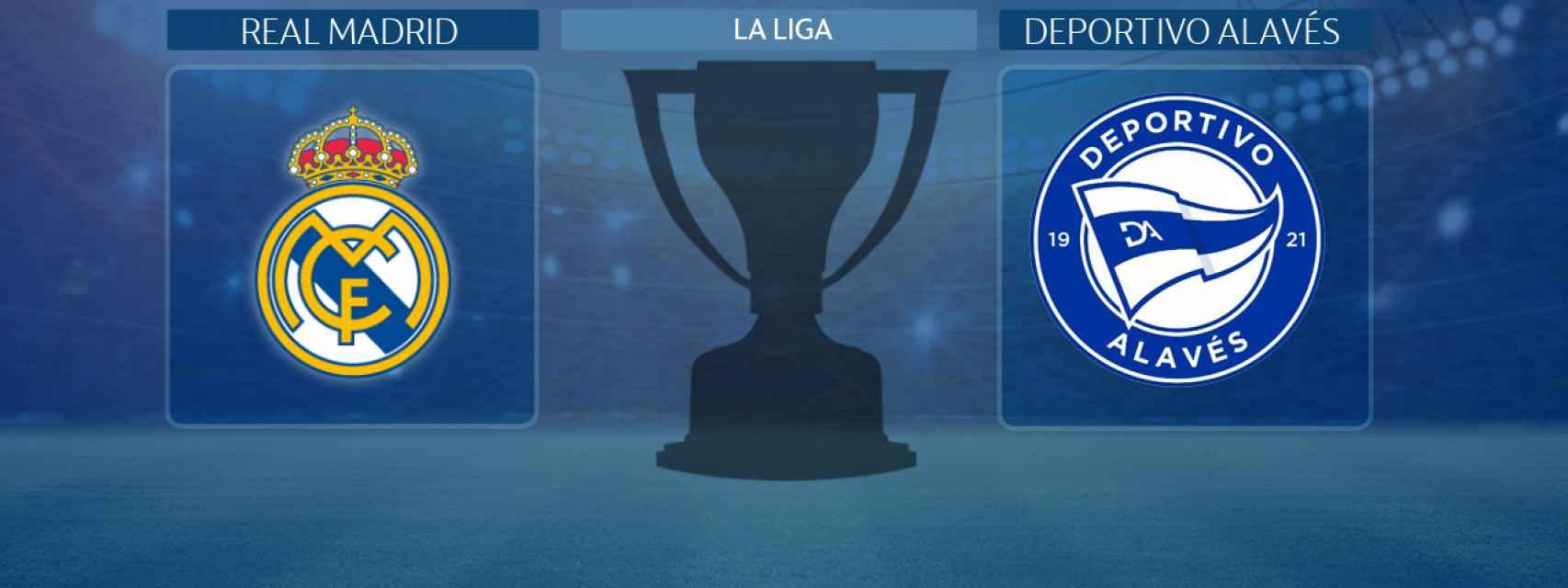 Real Madrid - Deportivo Alavés, partido de La Liga