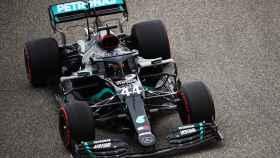 Hamilton en el GP de Bahréin