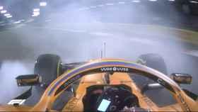 Los problemas mecánicos de Carlos Sainz en Bahrein