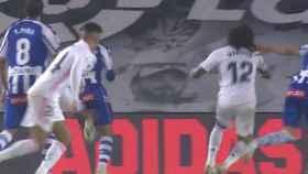 Penalti no pitado sobre Marcelo