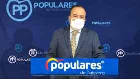 José Julián Gregorio, presidente provincial del PP de Toledo y senador
