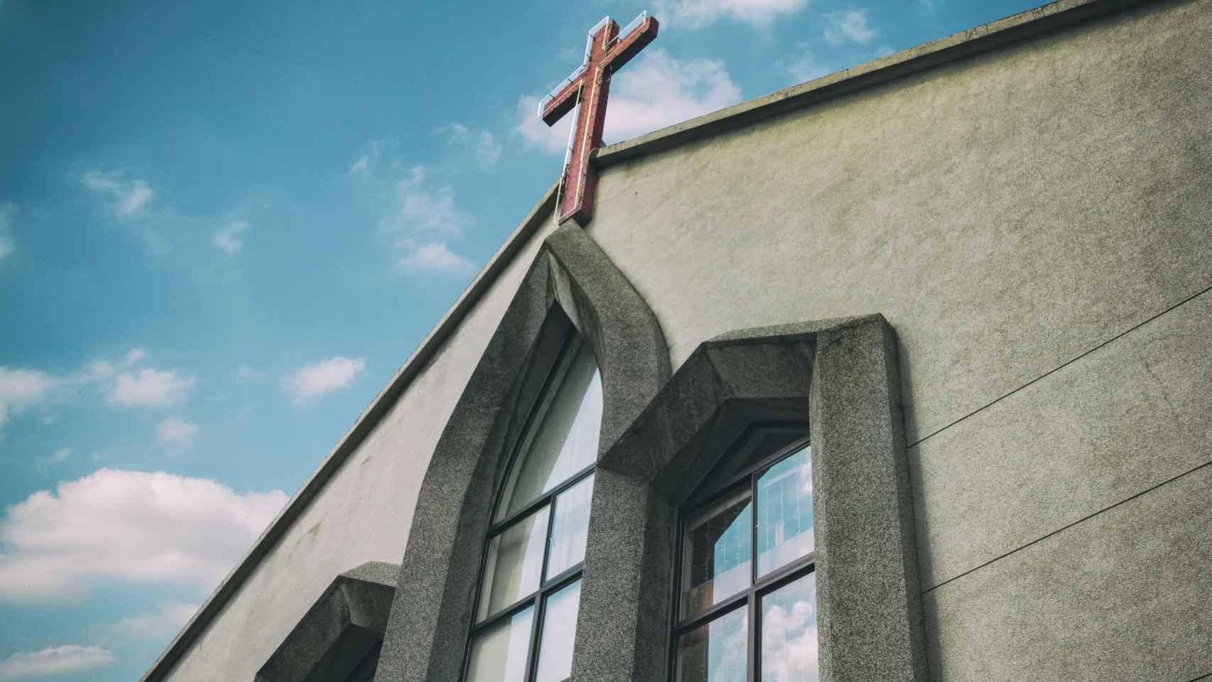 Una iglesia.