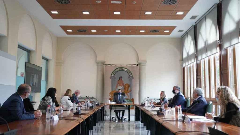 Reunión del comité provincial en Granada