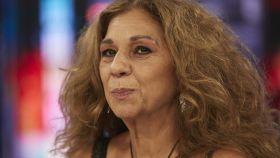 Lolita Flores en una entrevista en televisión.