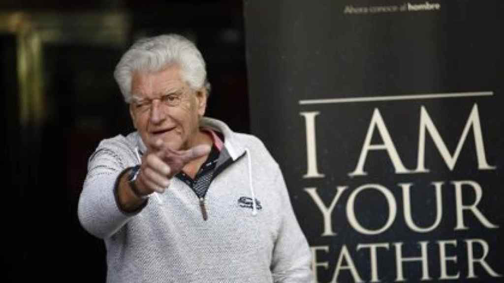 El actor David Prowse.