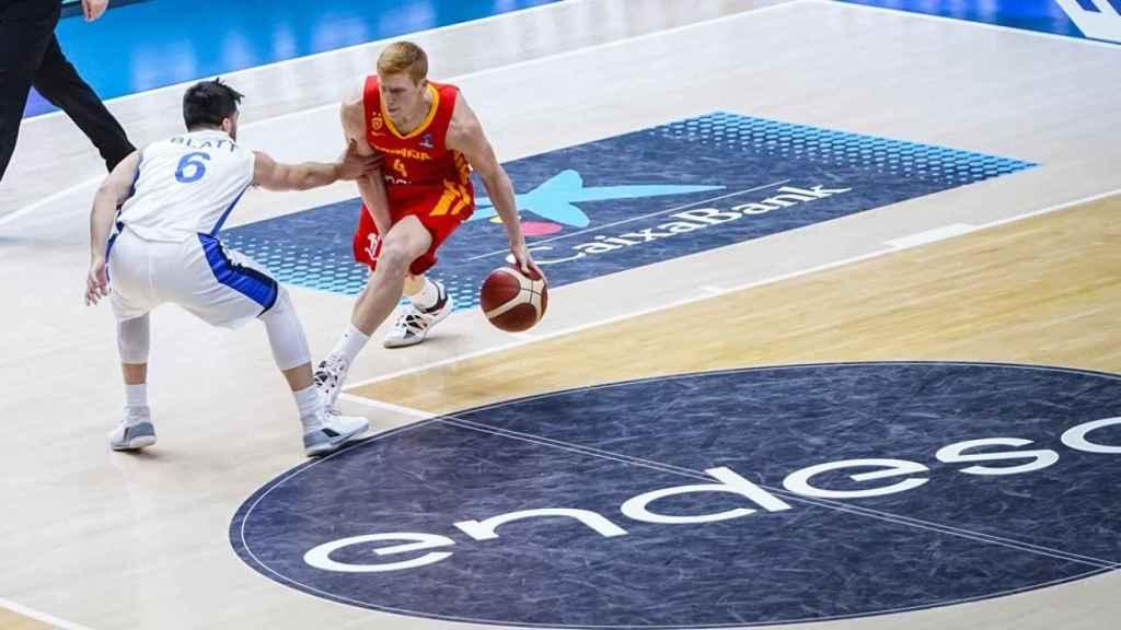 Alberto Díaz sube la jugada con la selección española de baloncesto