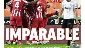 La portada del diario MARCA (29/11/2020)