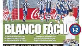 La portada del diario Mundo Deportivo (29/11/2020)