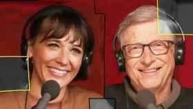 Bill Gates y Rashida Jones
