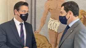 Luis Salvador y Juanma Moreno
