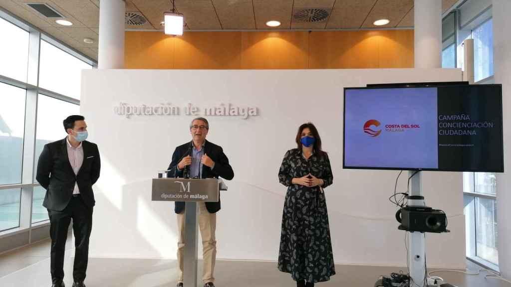 El presidente de la Diputación, Francis Salado