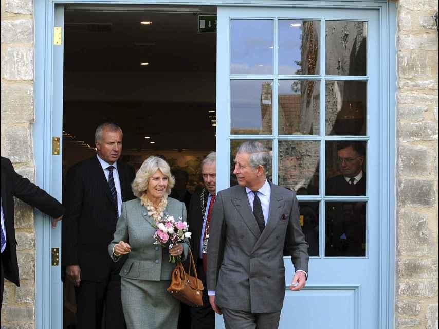 Camilla y Carlos de Inglaterra en Highgrove.