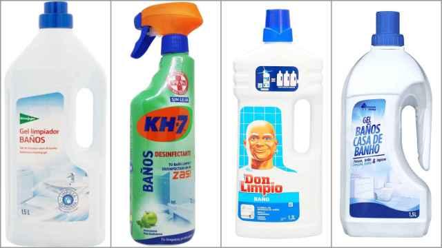 Estos son los 12 peores limpiadores de baño según el análisis de la OCU: de 0,80 a 2,99 euros