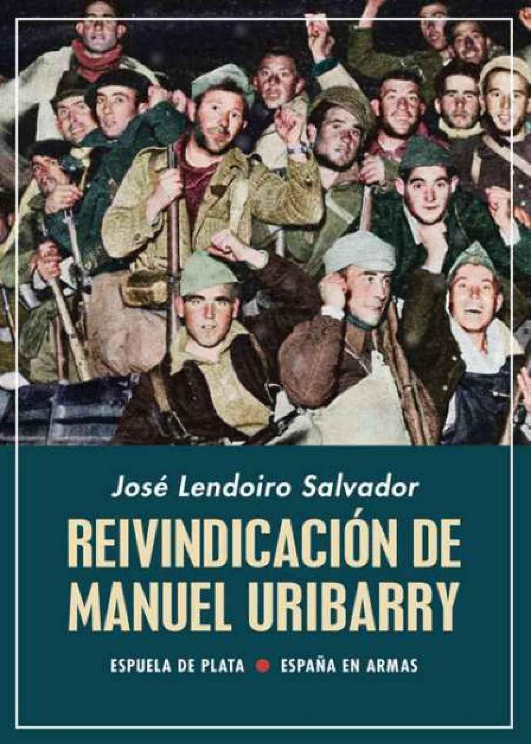 Portada de 'Reivindicación de Manuel Uribarry'.