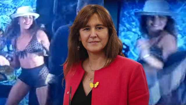 Laura Borrás tiene un pasado como gogó publicitaria