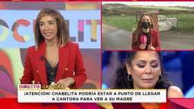 María Patiño en 'Socialité' (Mediaset)
