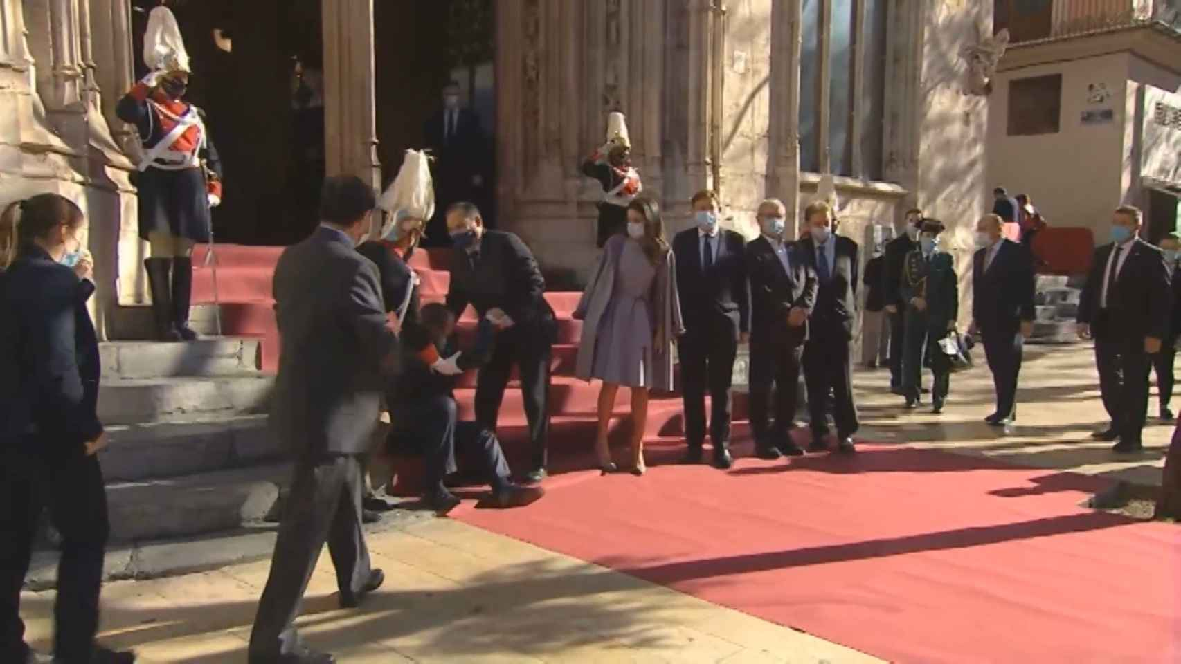 La Reina asiste al acto de entrega de los Premios Jaume I