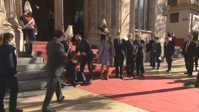 La Reina asiste al acto de entrega de los Premios Jaume I