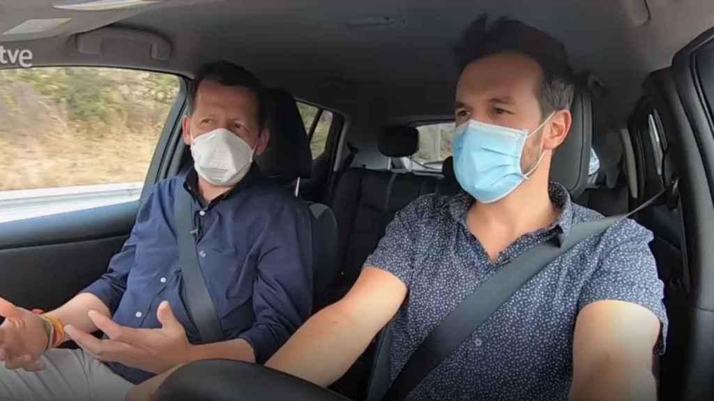 Carlos Gª Hirchsfeld y Diego Losada, en 'Seguridad Vital'.