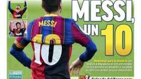 La portada del diario MARCA (30/11/2020)