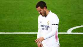Eden Hazard, durante el partido frente al Alavés