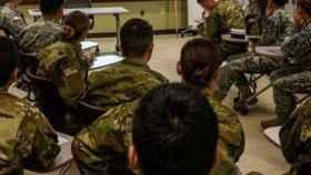 La mujer estaba destinada en el Regimiento de Artillería de Campaña 93 de Tenerife.
