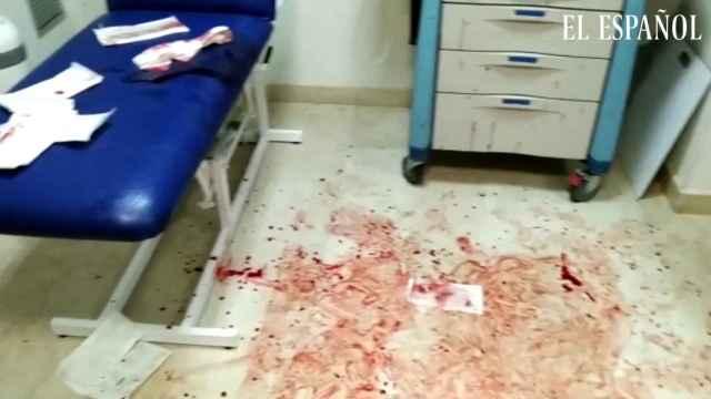 Ataque a sanitarios de un hombre en Águilas (Murcia)