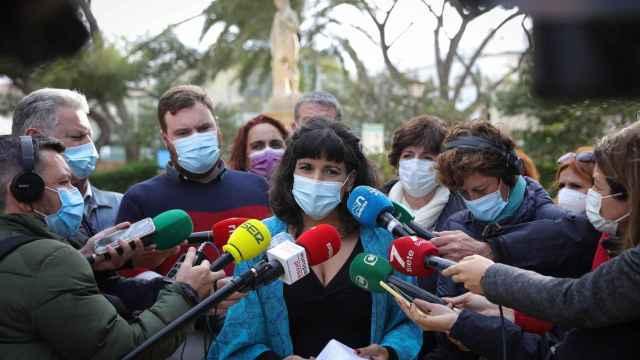 La excoordinadora de Adelante Andalucía, Teresa Rodríguez.