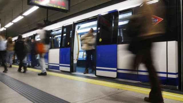 Estación de Metro de Madrid. Efe