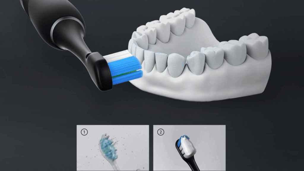 Leboo Smart Sonic Toothbrush, cepillo de dientes inteligente