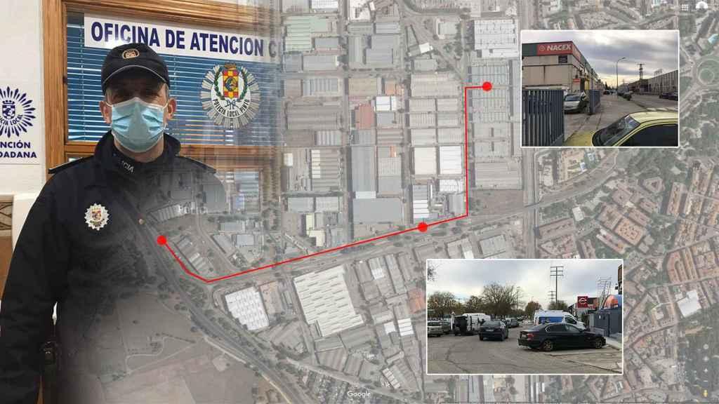 El oficial Javier Delgado traza a EL ESPAÑOL las líneas de lo ocurrido.