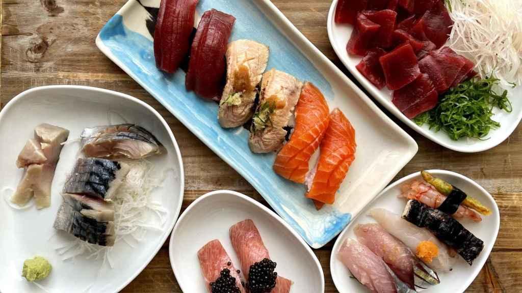 El sushi a domicilio de Kappo